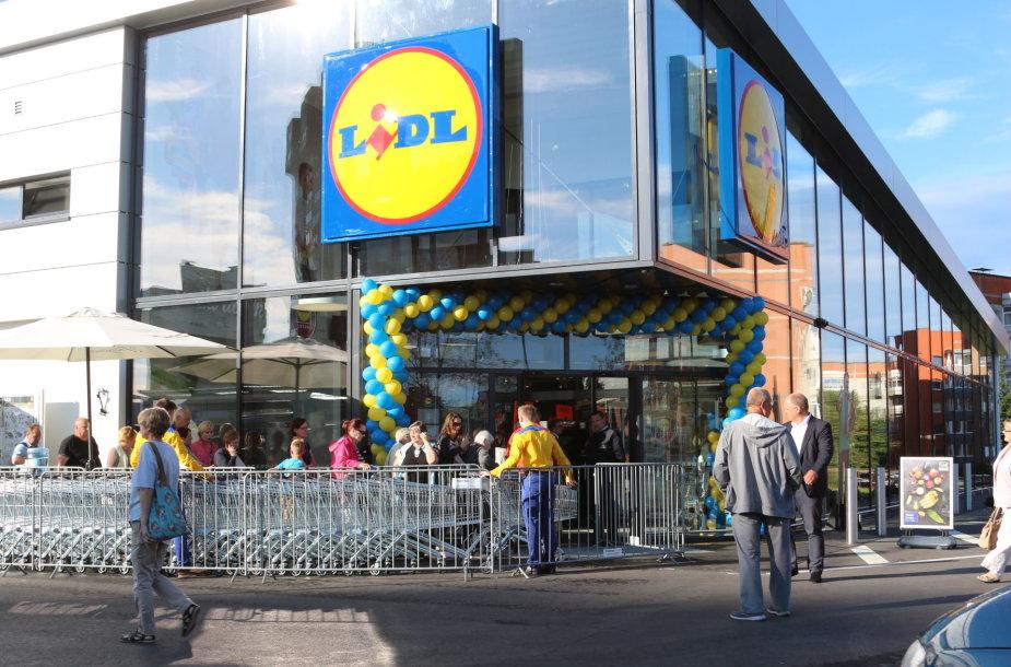 """Klaipėdoje atidaryta dar viena """"Lidl"""" parduotuvė"""