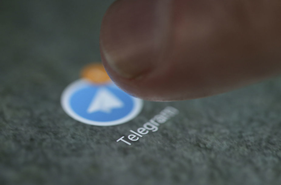 "Programėlė ""Telegram"""