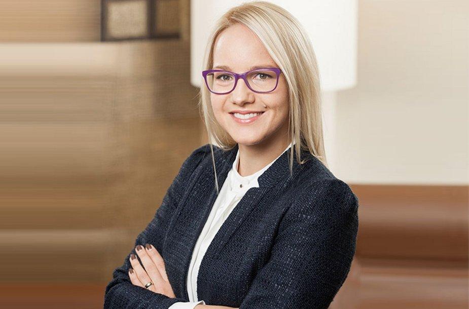Ieva Kontrauskaitė.  Photo 'Marger' law firm