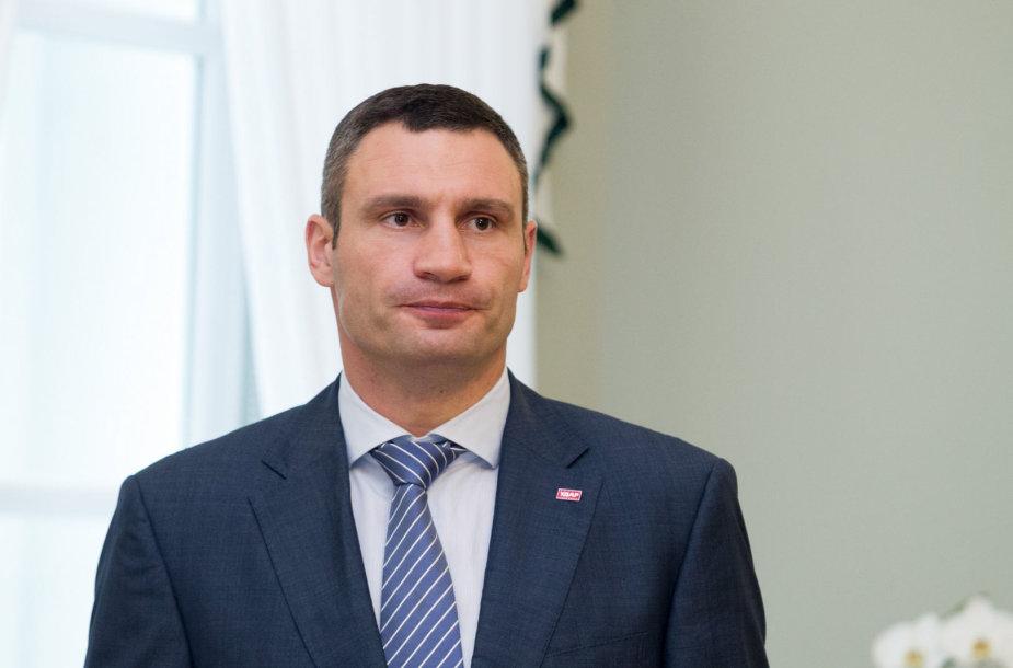 Boxer and opposition politician Vitali Klitschko: Ukraine's