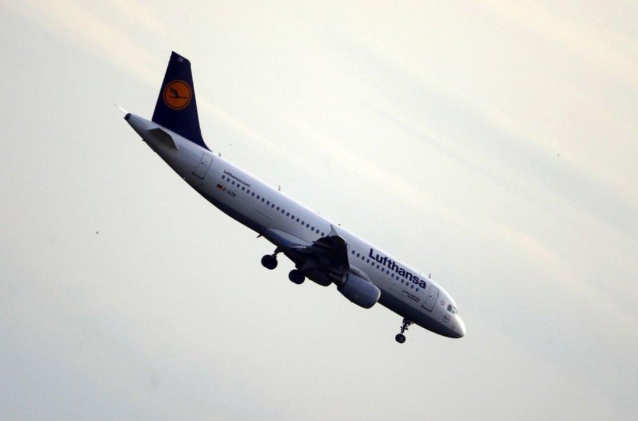 """""""Lufthansa"""" lėktuvas"""