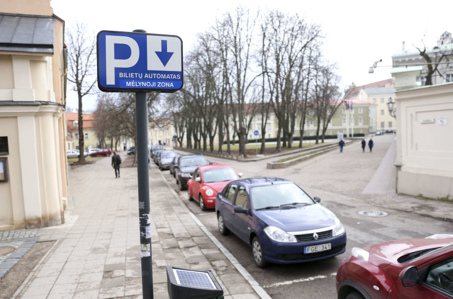 Mėlynoji parkavimo zona