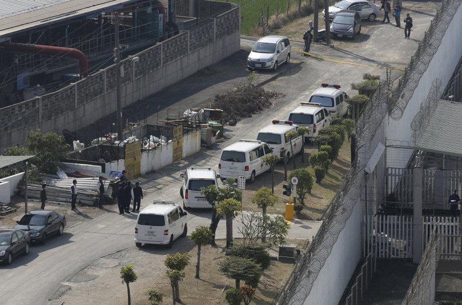 Taivano kalėjime kelis įkaitus laikę šeši kaliniai nusižudė
