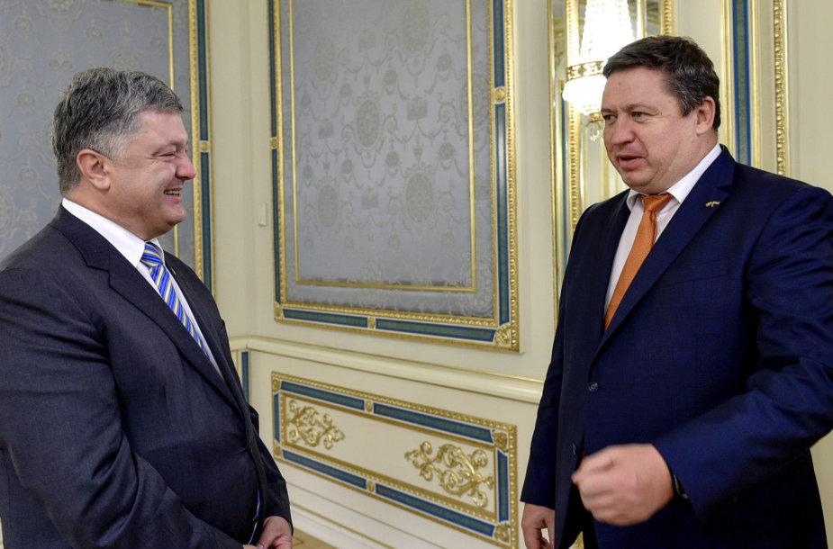 Krašto apsaugos ministras Raimundas Karoblis lankosi Kijeve