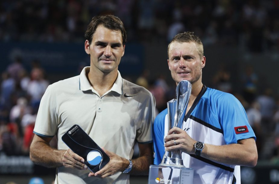 Rogeris Federeris ir Lleytonas Hewittas
