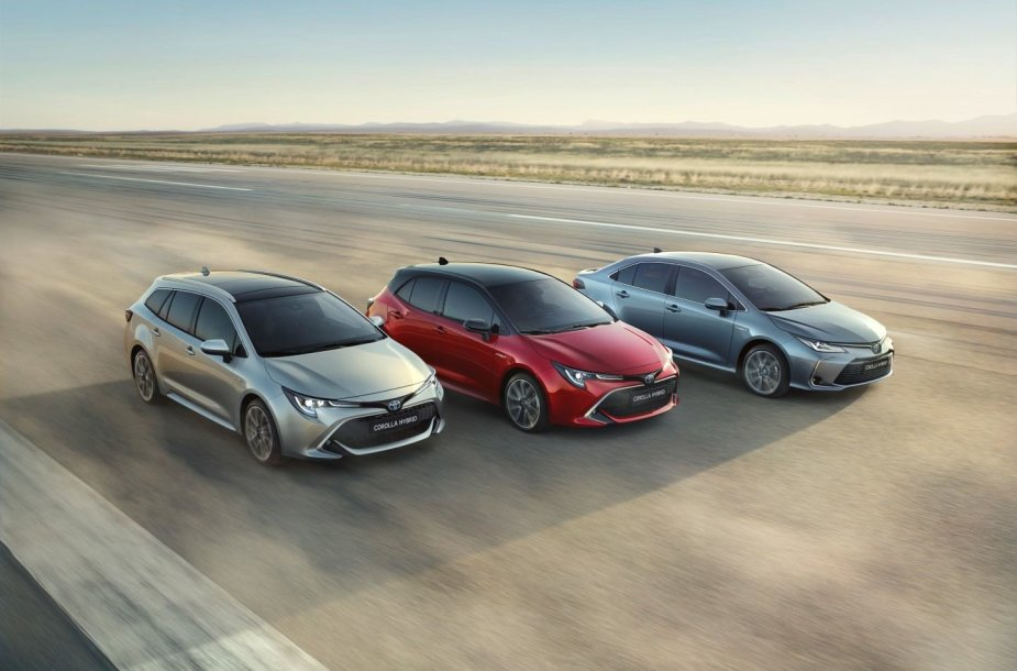 """Toyota Corolla"" sedanas"