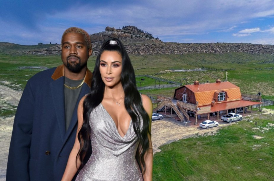 Kim Kardashian ir Kanye Westas įsigijo rančą Vajominge