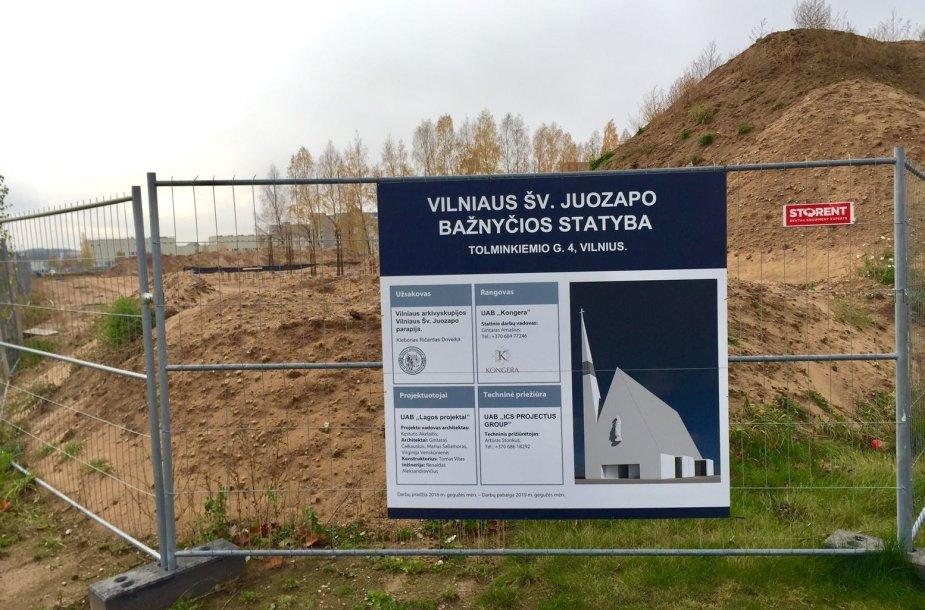 Pilaitės bažnyčios statybos