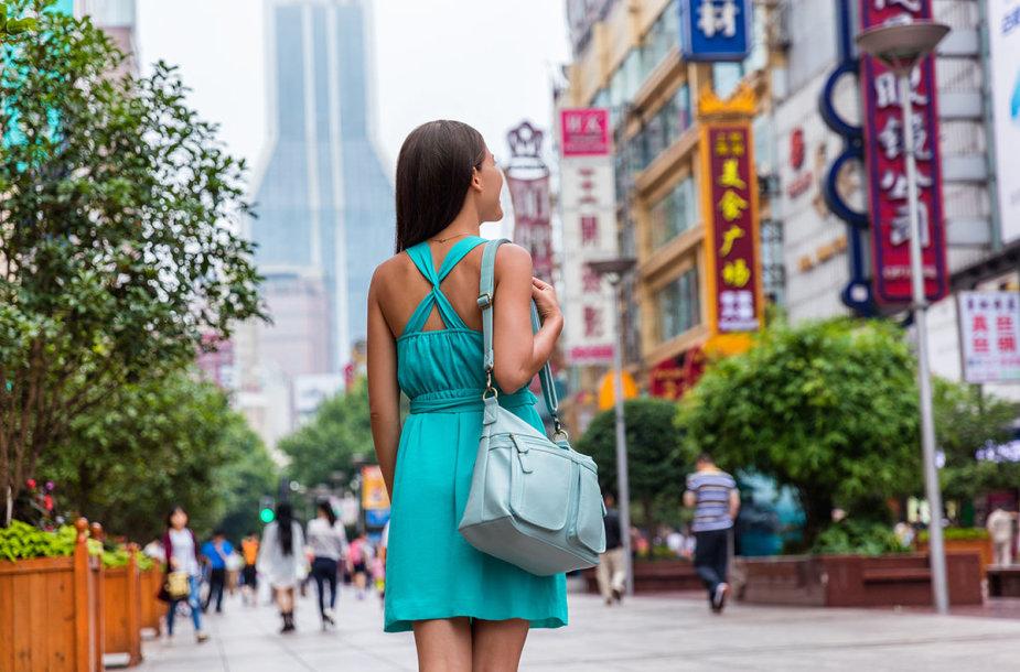 Šanchajus, Nandzingo gatvė