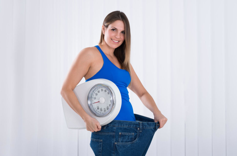 Mergina, numetusi svorio