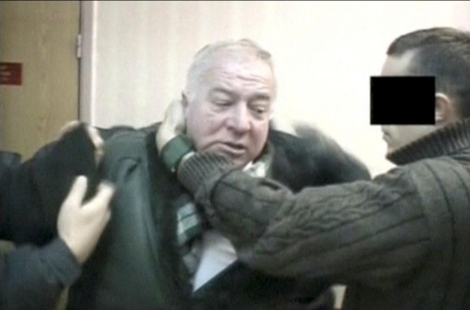 FST agentų sulaikytas Sergejus Skripalis