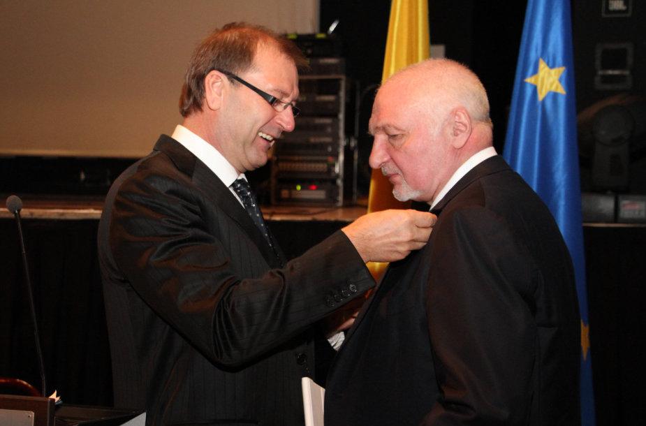 Viktoras Uspaskichas ir Valentinas Mazuronis