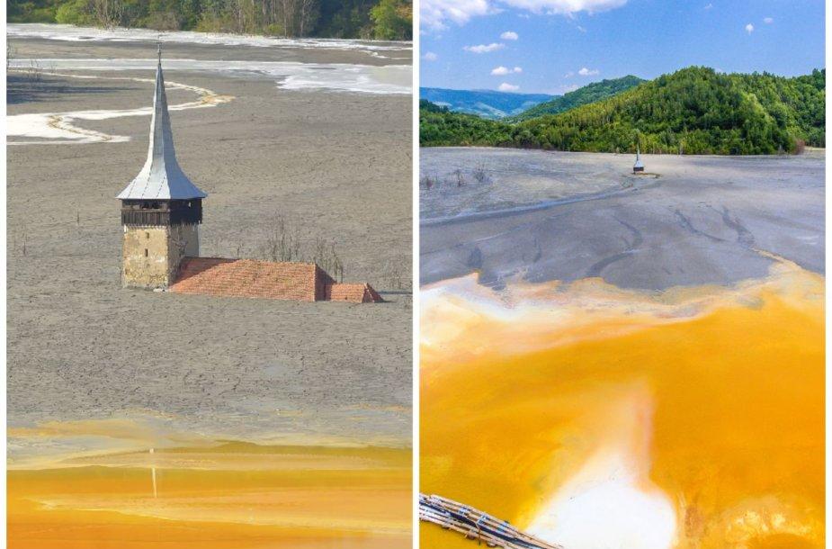 Geamana – Rumunijos kaimas, kurį palaidojo toksiškas ežeras