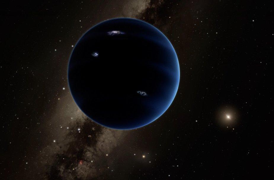 Planeta X menininko akimis