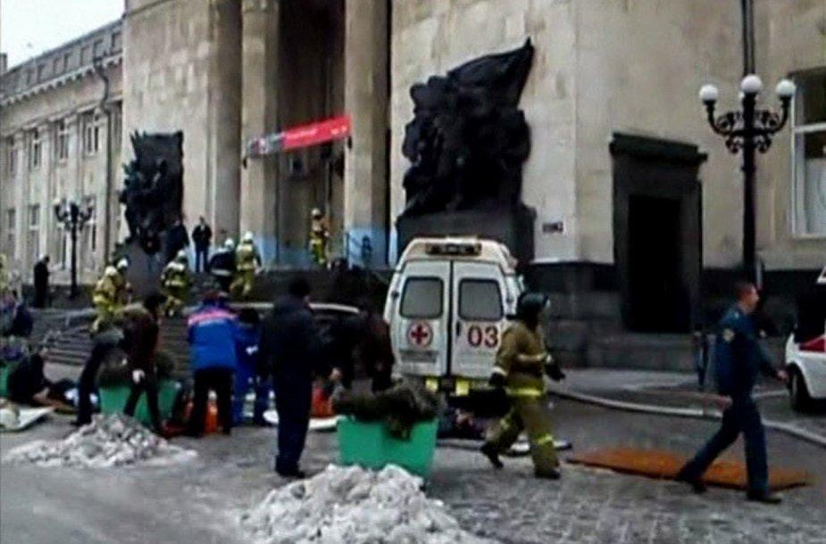 Volgogrado geležinkelio stotyje įvykdytas teroro išpuolis.