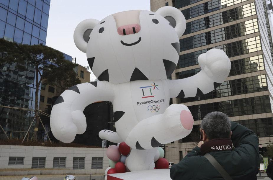 Pjongčango žiemos olimpinių žaidynių talismanas