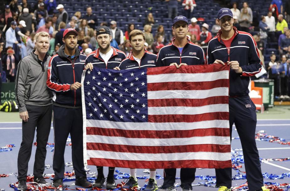 JAV teniso rinktinė
