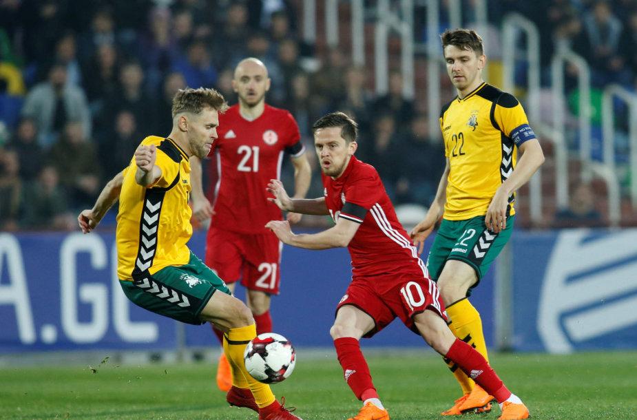 Džano Ananidzė rungtynėse su Lietuva patyrė sunkią traumą.