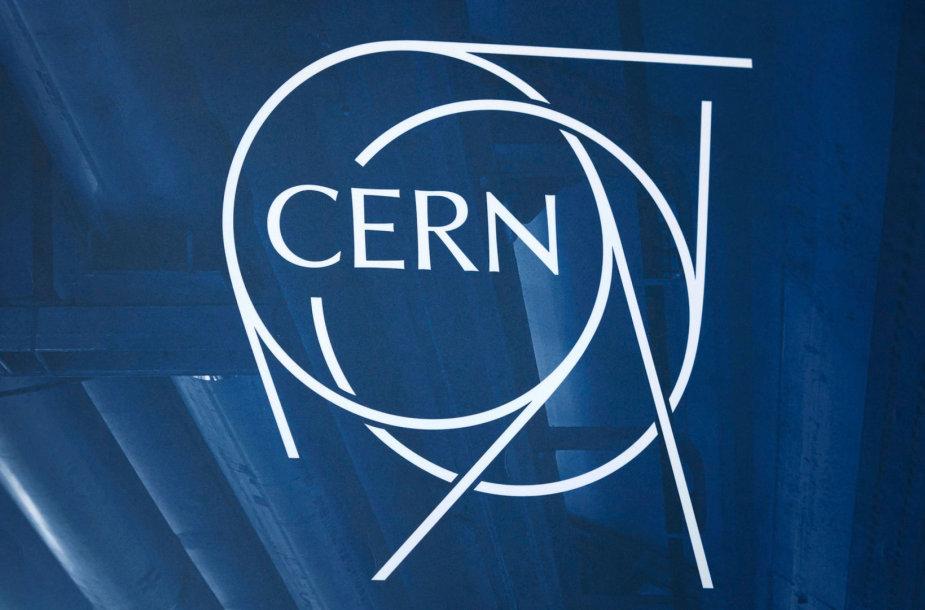 Europos branduolinių tyrimų organizacija (CERN) logotipas