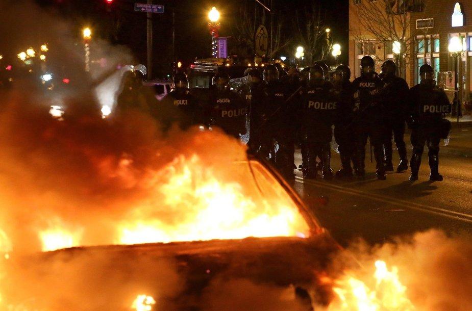 Policininkai Fergusone (JAV)