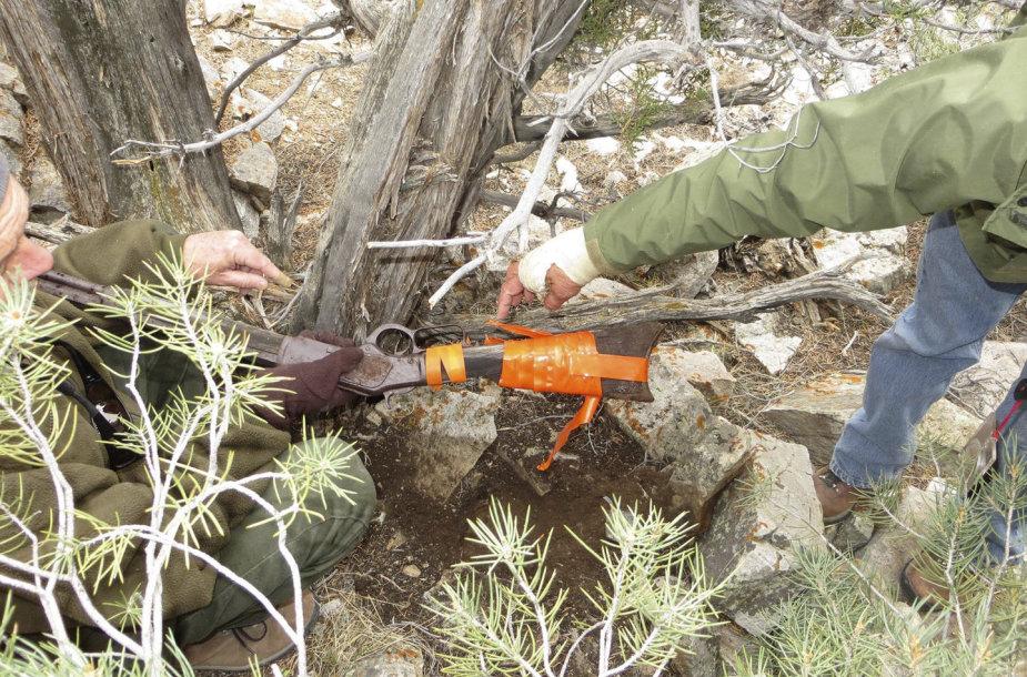 JAV parke rastas mįslingas Laukinių Vakarų užkariavimo epochos šautuvas.