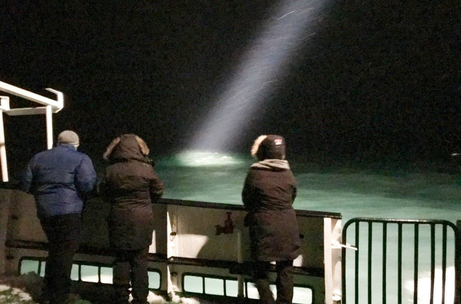Arkties vandenyno dugne rastas dingęs rusų sraigtasparnis.