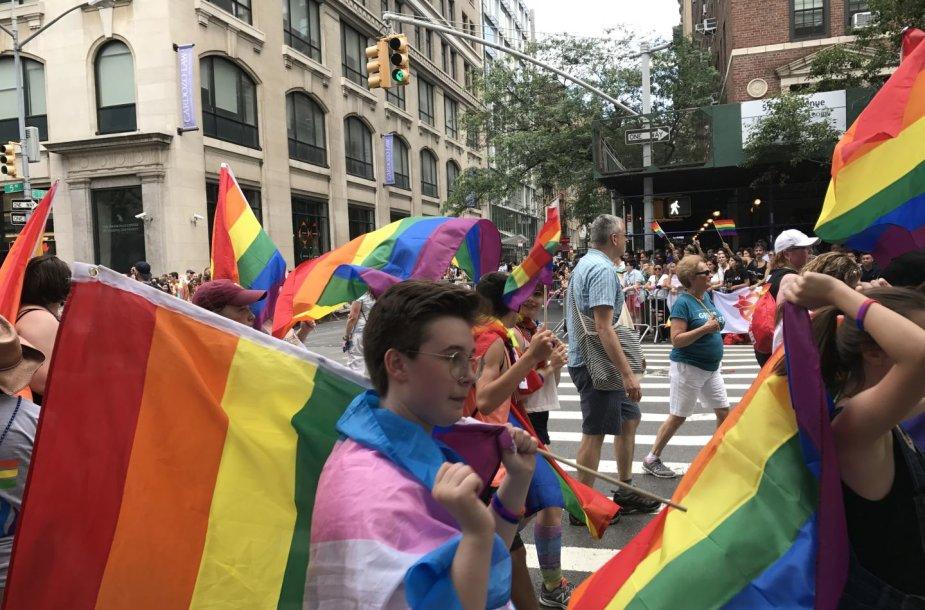 Galingasis LGBT paradas Niujorke