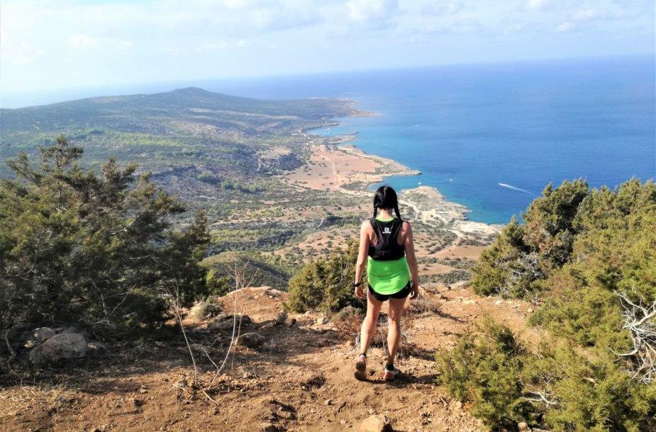 Trail bėgimas Kipre – kitokios atostogos