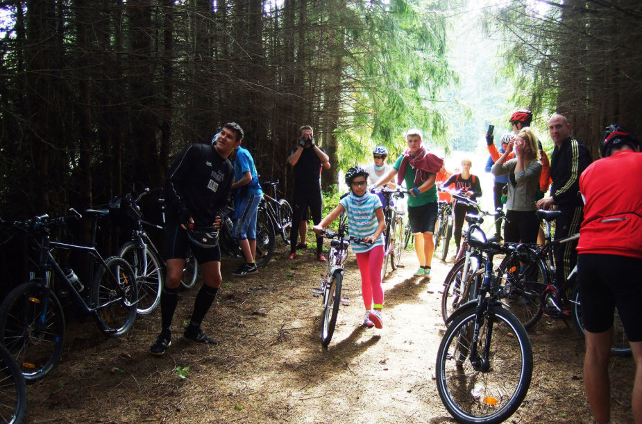 """Tytuvėnuose įvyko jau tradicinė dviračių mėgėjų šventė """"TYTUVELO 2014"""""""