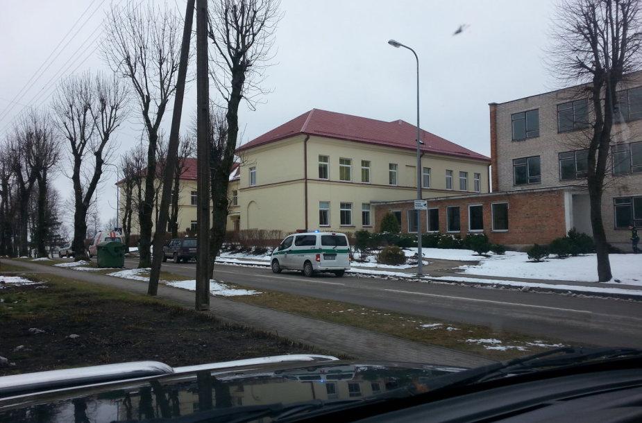 Evakuota Daugų Vlado Mirono gimnazija