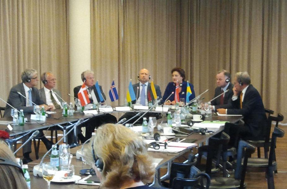 Šiaurės ir Baltijos šalių parlamentų vadovų susitikimas Palangoje