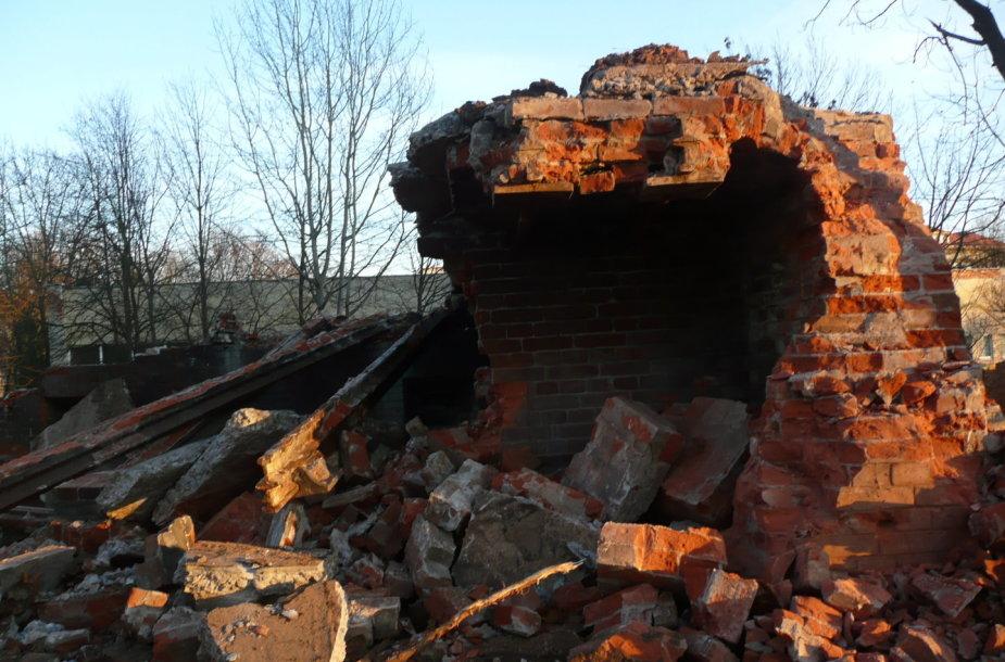 Kauno tvirtovės VII forto ledainės griuvėsiai