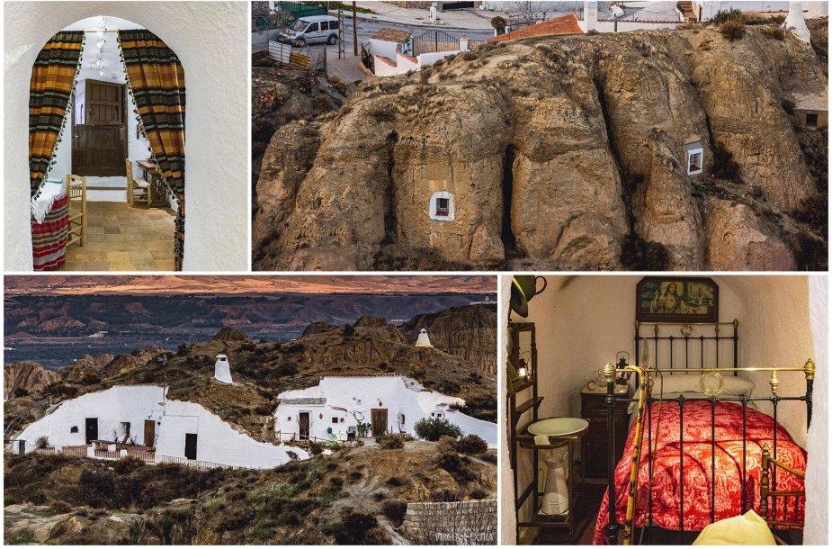 Šiuolaikiniai trogloditai: gyvenimas Guadix urvuose