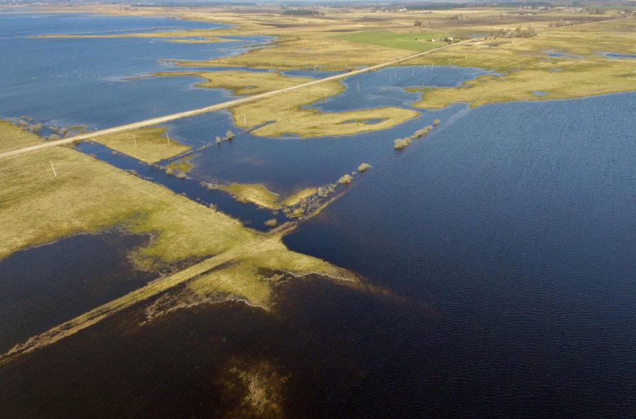 Potvynis Šilutės rajone