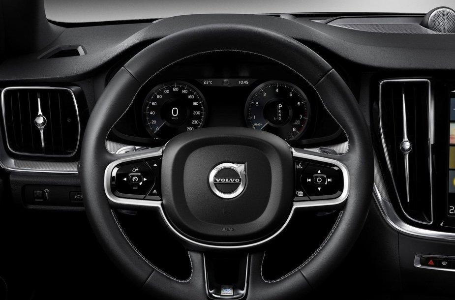 """JAV pristatytas naujasis """"Volvo S60"""""""