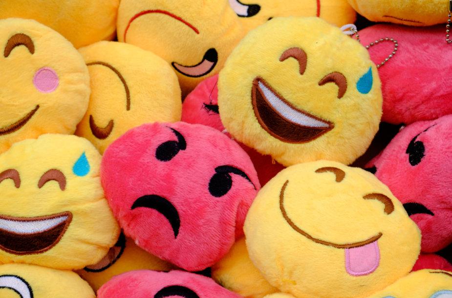 Emoji žaisliukai