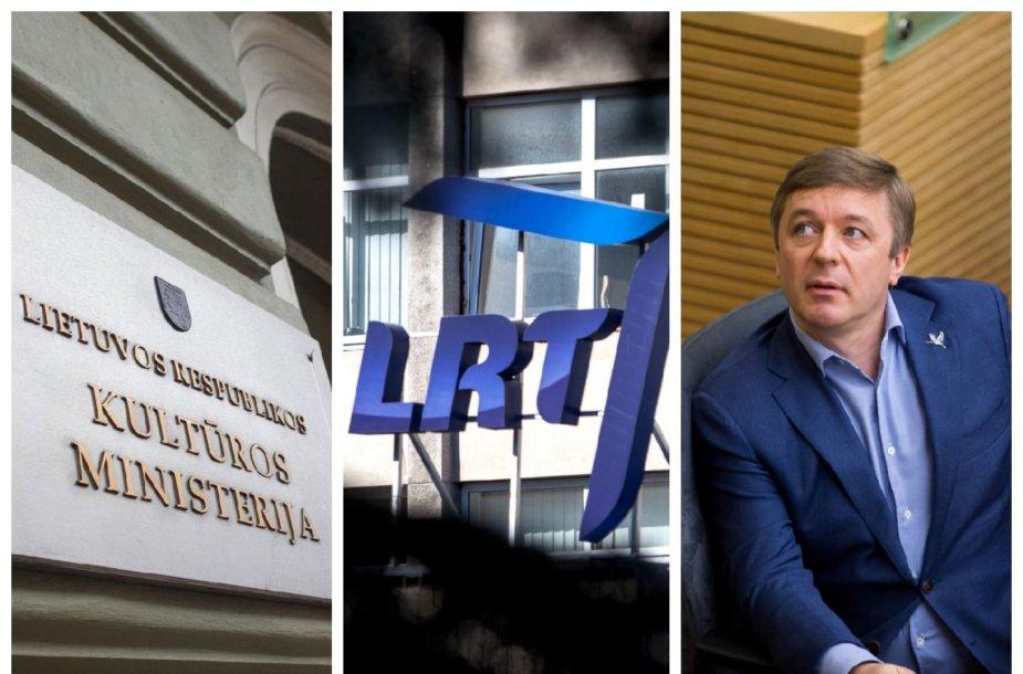 Kultūros ministerija – prieš R.Karbauskio pataisą dėl LRT valdymo