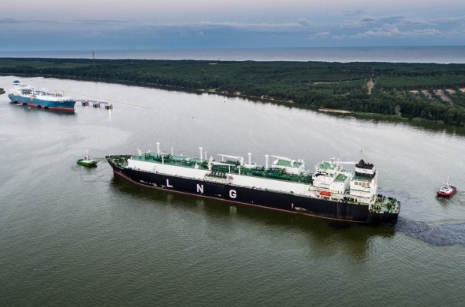 JAV dujas atgabenęs laivas Klaipėdoje