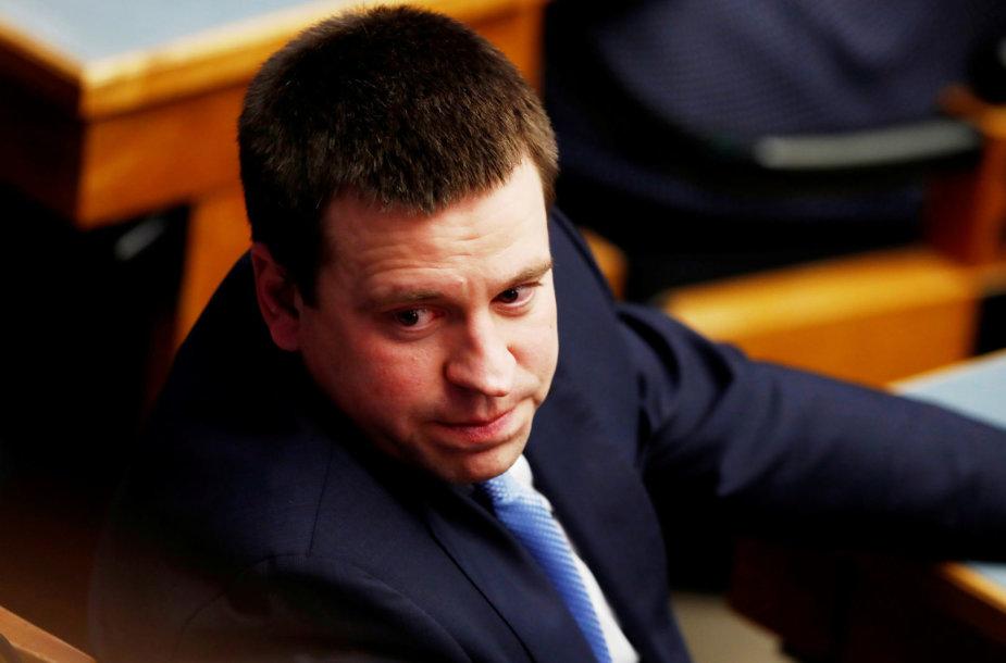 Estijos premjeras ir Centro partijos lyderis Juri Ratas