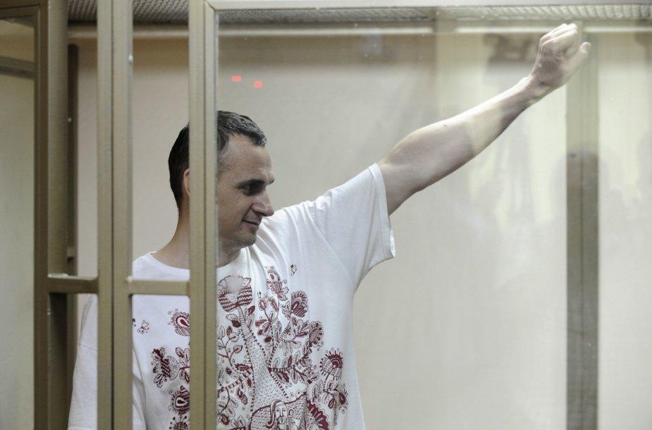 Rusijoje kalinamas ukrainietis režisierius Olegas Sencovas