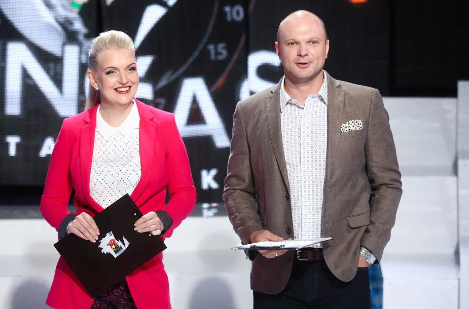 Rūta Ščiogolevaitė-Damijonaitienė ir Kristupas Krivickas