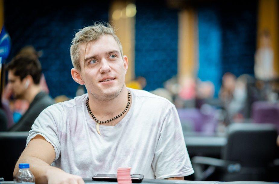 Dominykas Mikolaitis / Merit Poker nuotr.