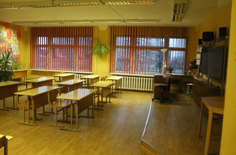 Streikas Panevėžio mokyklose