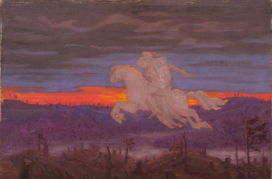 """A. Žmuidzinavičius – """"Milžinkapių kraštas"""" 1911 m."""