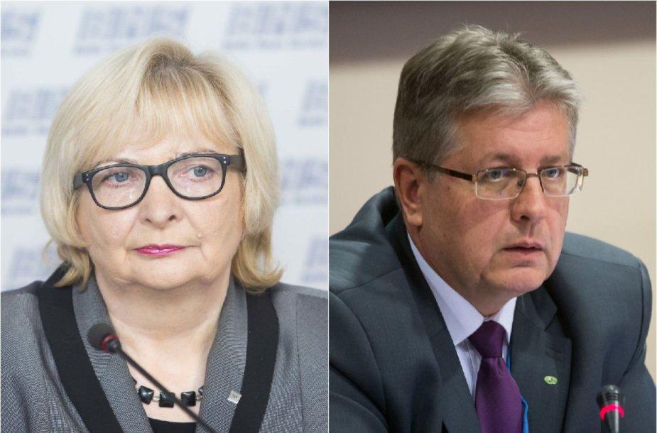 Monika Bilotienė ir Gražvydas Kazakevičius