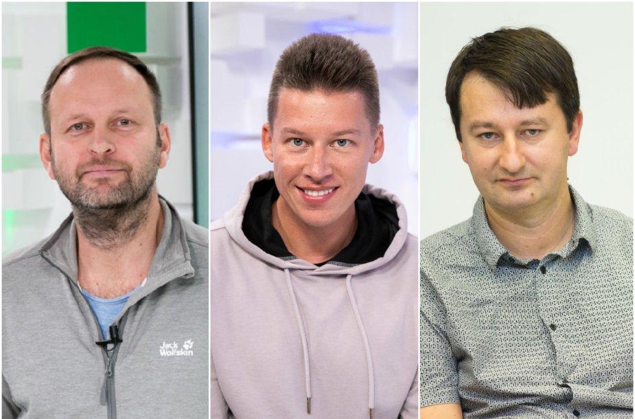 Danas Pancevičius, Rimvydas Širvinskas, Robertas Pogorelis