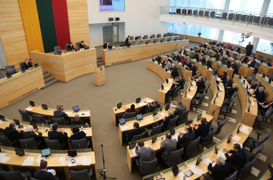 Nenumatytas Seimo posėdis
