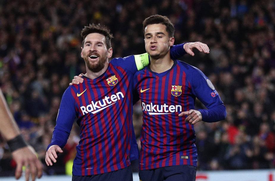 Lionelis Messi ir Philippe Coutinho