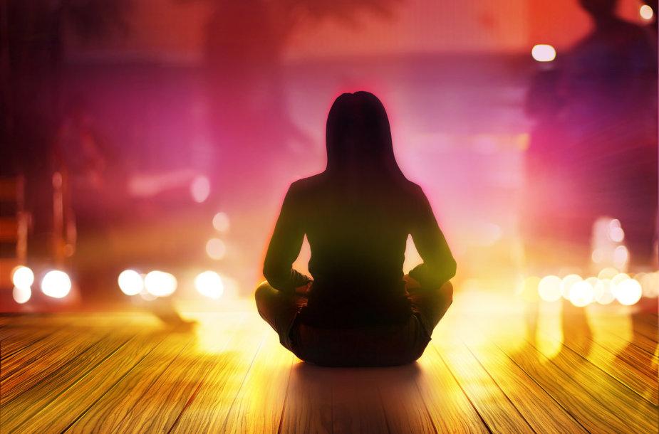 Meditacija.