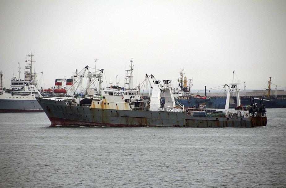 Nuskendęs Pietų Korėjos žvejybinis laivas